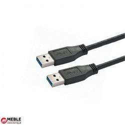Kabel USB 3.0 A/A łączeniowy (1,8m)