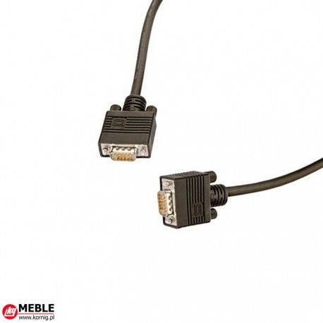 Kabel VGA 15-bieg. HD (1m)