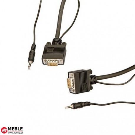 Kabel VGA 15-bieg. HD + MJ (5m)