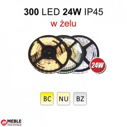 Taśma 300 LED 24W IP45