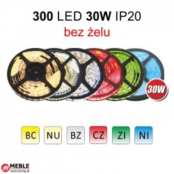 Taśma 300 LED 30W IP20