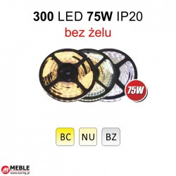 Taśma 300 LED 75W IP20