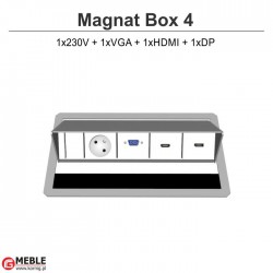 Magnat Box-4 230V+VGA+HDMI+DP