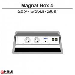 Magnat Box-4 2x230V+VGA+MJ+2xRJ45