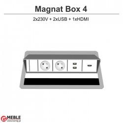 Magnat Box-4 2x230V+2xUSB +HDMI