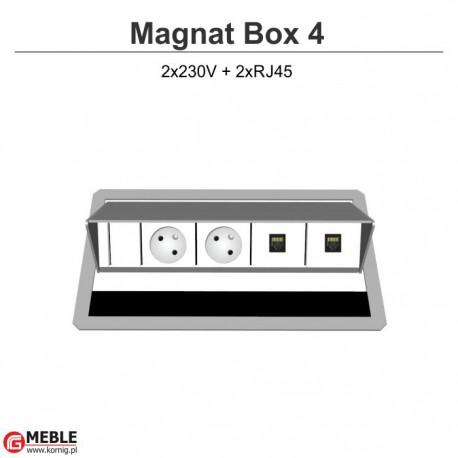 Magnat Box-4 2x230V+2xRJ45