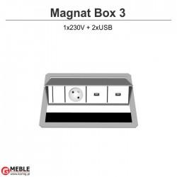Magnat Box-3 230V+2xUSB