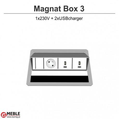 Magnat Box-3 230V+2xUSBcharger