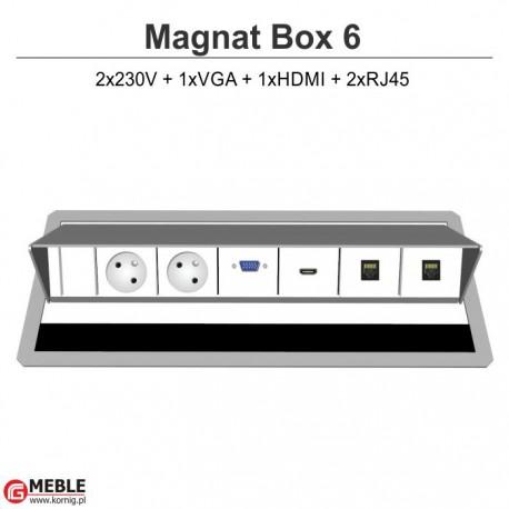 Magnat Box-6 2x230V+VGA+HDMI+2xRJ45