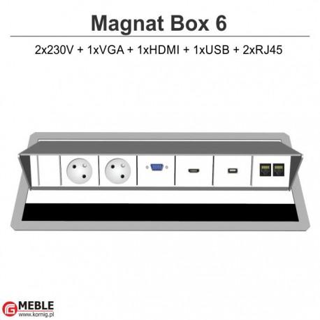 Magnat Box-6 2x230V+VGA+HDMI+USB+2xRJ45