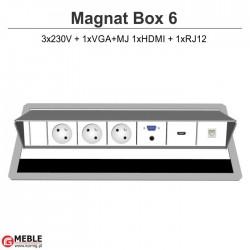 Magnat Box-6 3x230V+VGA+MJ+HDMI+RJ12