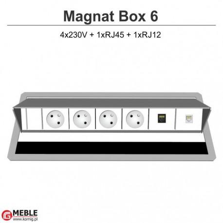 Magnat Box-6 4x230V+RJ45+RJ12
