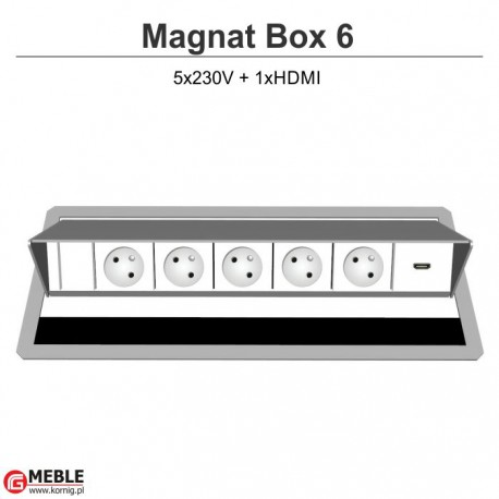 Magnat Box-6 5x230V+HDMI