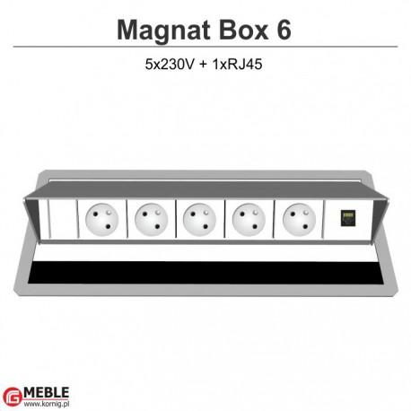 Magnat Box-6 5x230V+RJ45