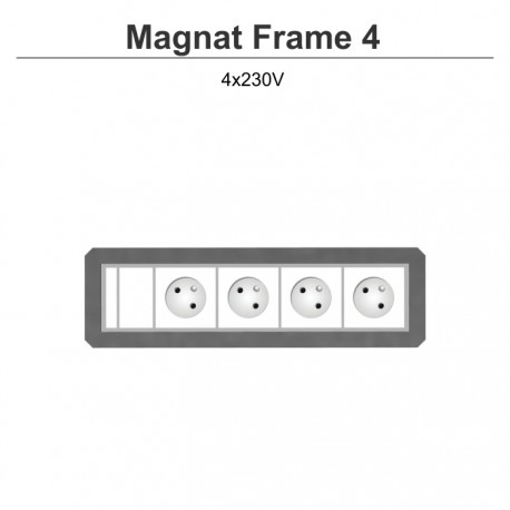 Magnat Frame-4 4x230V