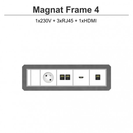 Magnat Frame-4 230V+3xRJ45+HDMI