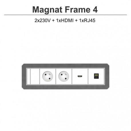 Magnat Frame-4 2x230V+HDMI+RJ45