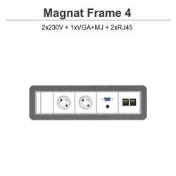 Magnat Frame-4 2x230V+VGA+MJ+2xRJ45