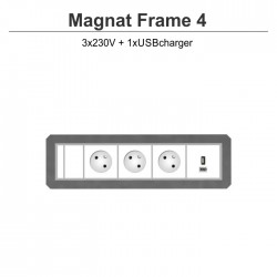 Magnat Frame-4 3x230V+USBcharger