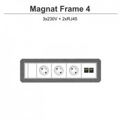 Magnat Frame-4 3x230V+2xRJ45