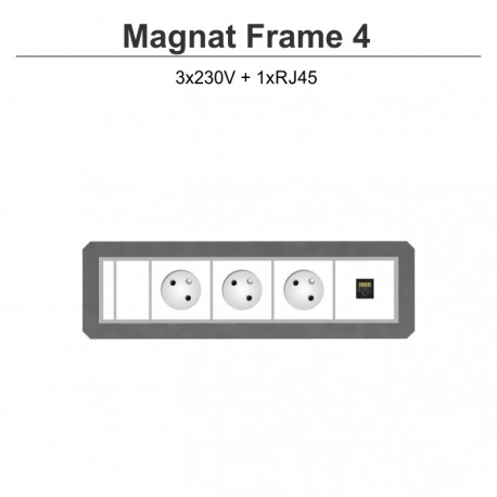 Magnat Frame-4 3x230V+RJ45