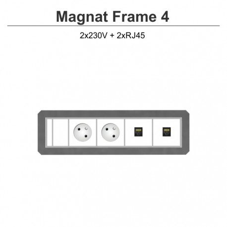 Magnat Frame-4 2x230V+2xRJ45