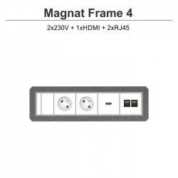 Magnat Frame-4 2x230V+HDMI+2xRJ45