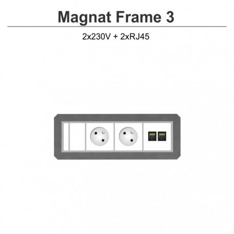 Magnat Frame-3 2x230V+2xRJ45