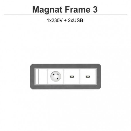 Magnat Frame-3 230V+2xUSB