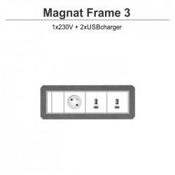 Magnat Frame-3 230V+2xUSBcharger