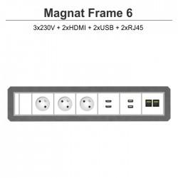 Magnat Frame-6 3x230V+2xHDMI+2xUSB+2xRJ45