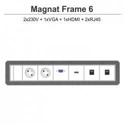 Magnat Frame-6 2x230V+VGA+HDMI+2xRJ45