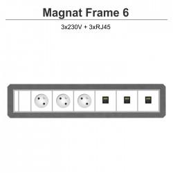 Magnat Frame-6 3x230V+3xRJ45