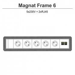 Magnat Frame-6 5x230V+2xRJ45