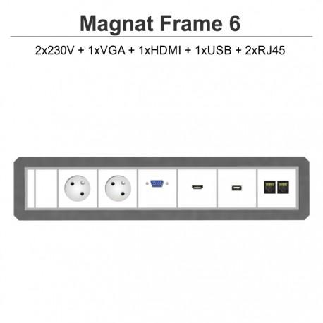 Magnat Frame-6 2x230V+VGA+HDMI+USB+2xRJ45