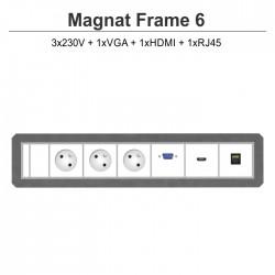Magnat Frame-6 3x230V+VGA+HDMI+RJ45