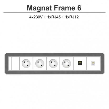 Magnat Frame-6 4x230V+RJ45+RJ12