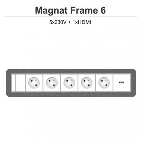 Magnat Frame-6 5x230V+HDMI