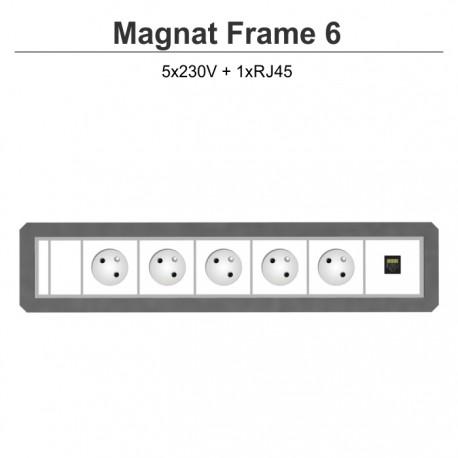 Magnat Frame-6 5x230V+RJ45