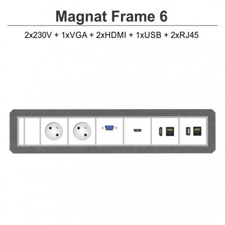 Magnat Frame-6 2x230V+VGA+2xHDMI+USB+2xRJ45