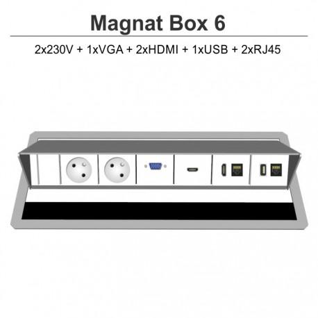 Magnat Box-6 2x230V+VGA+2xHDMI+USB+2xRJ45