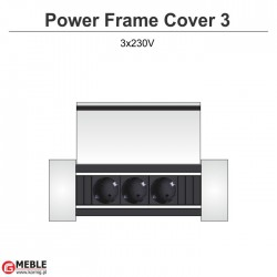 Power Frame Cover-3 3x230V