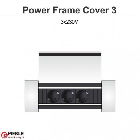 Power Frame Cover-3 3x230V