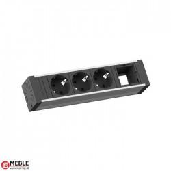 Listwa Venid-4 3x230V+1xpuste