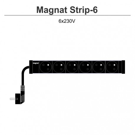 Magnat Strip-6 6x230V