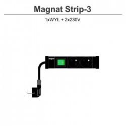 Magnat Strip-3 2x230V + wyłącznik