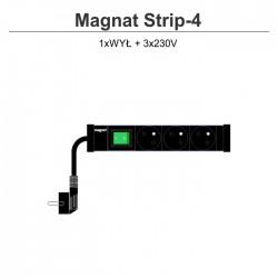 Magnat Strip-4 3x230V + wyłącznik