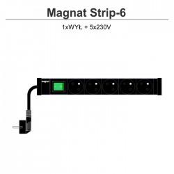 Magnat Strip-6 5x230V + wyłącznik