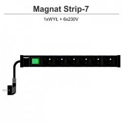 Magnat Strip-7 6x230V + wyłącznik