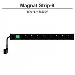 Magnat Strip-9 8x230V + wyłącznik